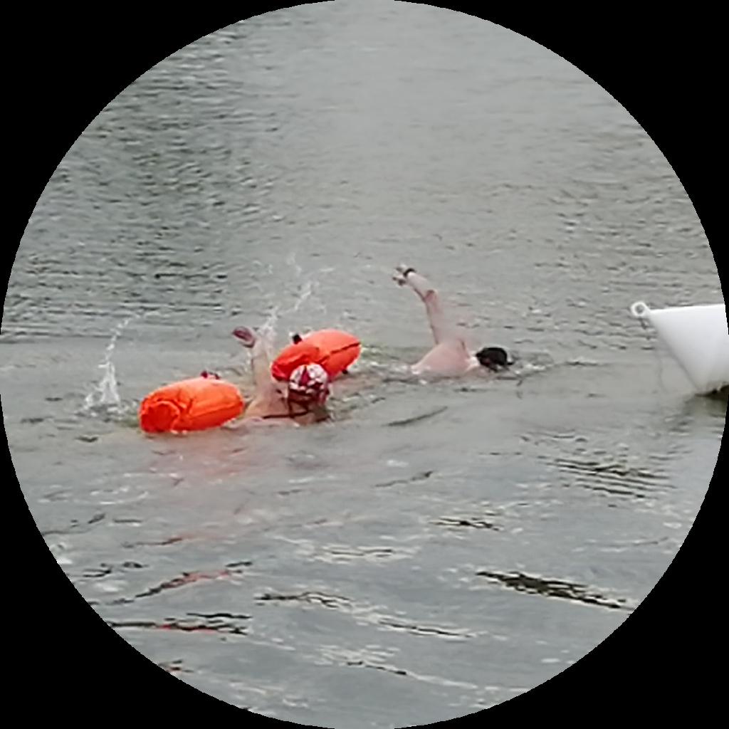 nage en eau libre à nailloux, haute garonne