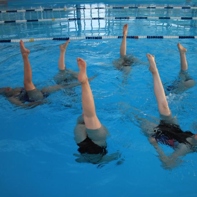 natation artistique au CNVL